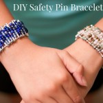 DIY Safety Pin Bracelets